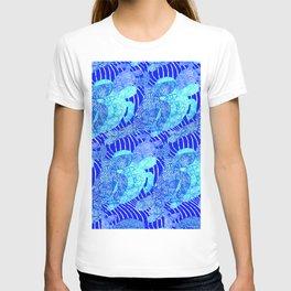 blue sea turtles T-shirt
