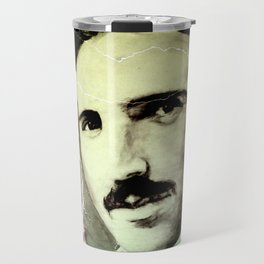 Nikola TESLA - quote Travel Mug