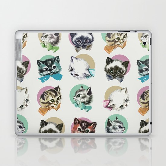 Cats & Bowties Laptop & iPad Skin