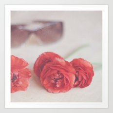 Rosy Outlook Art Print