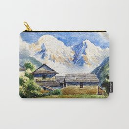 Old House By The Mountain Carry-All Pouch