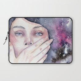 Among the stars Laptop Sleeve