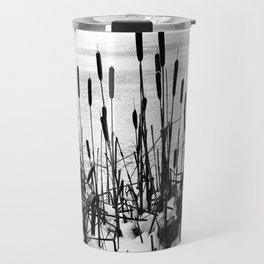 Winter Cattails Travel Mug