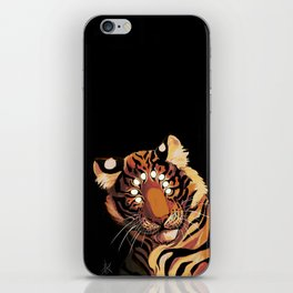 Do Not Give In to Despair (orange burn) iPhone Skin