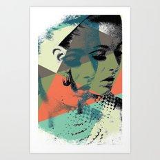 Krass Bros. Lady Art Print