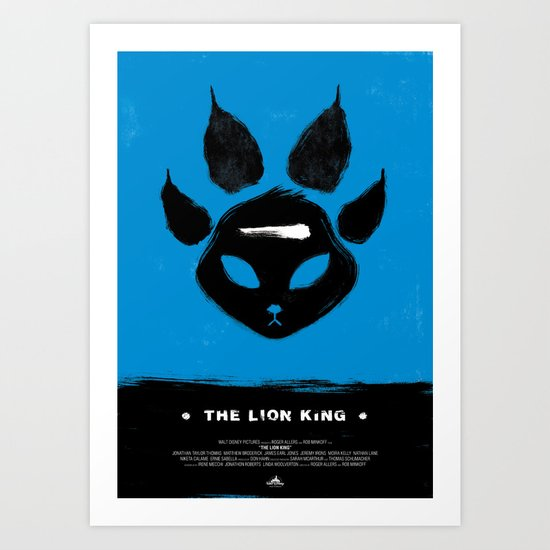 The Lion King Art Print
