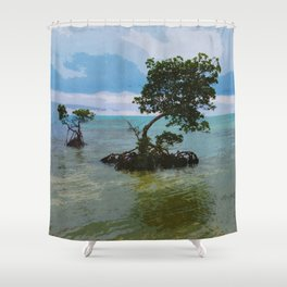 Mangrove Landscape Shower Curtain