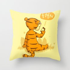 Ta Ta For Now Throw Pillow