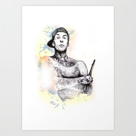 Travis Barker by nicolagirello