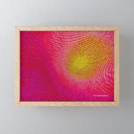 """""""Social Network"""" Digital Art Framed Mini Art Print"""