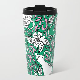 Tea Time Green Travel Mug