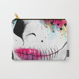 Tired catrina Carry-All Pouch