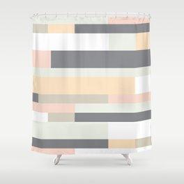 Pasteli Rayas Shower Curtain