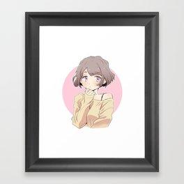sweater Framed Art Print