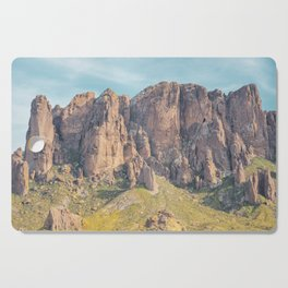 Superstition Mountains, Arizona Cutting Board