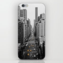 Black Cab iPhone Skin