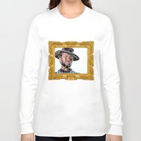 cowboy Long Sleeve T-shirts featuring Cowboy by Cesar Peralta