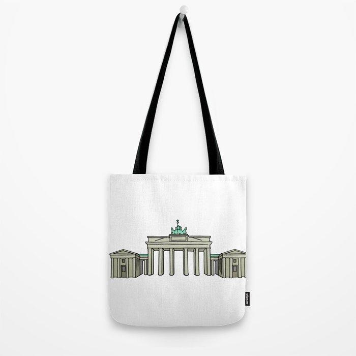 Brandenburg Gate in Berlin Tote Bag