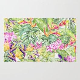 Tropical Garden 1A #society6 Rug