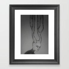 Stream of Thought Framed Art Print