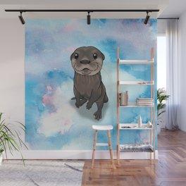 Otter Cuteness Wall Mural