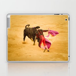 Corrida portugaise torero Laptop & iPad Skin