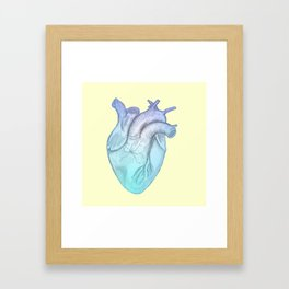 Cold Hearted Framed Art Print