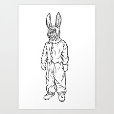 Rotten rabbit Art Print