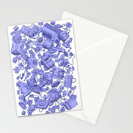 Retro Gamer - Blue Stationery Cards