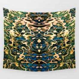 Water reflection Wall Tapestry