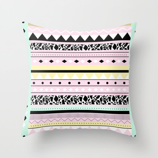 MIAKODA P O W E R Throw Pillow