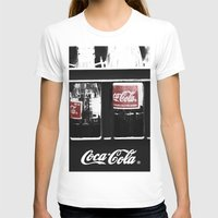 coca cola T-shirts featuring coca cola by Crimson Crazed