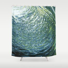 Underwater Movement Shower Curtain