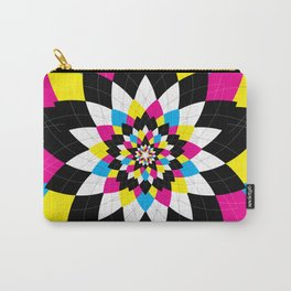 CMYK Argyle Carry-All Pouch