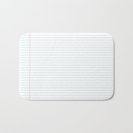 Notepaper Bath Mat