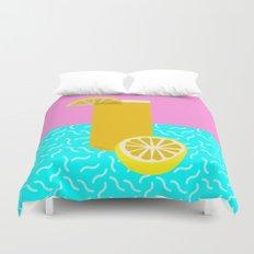 Lemonade /// www.pencilmeinstationery.com Duvet Cover