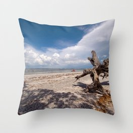 Ent Marching Towards Sea Throw Pillow