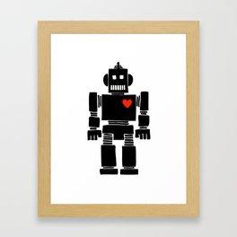 Loverbot Framed Art Print