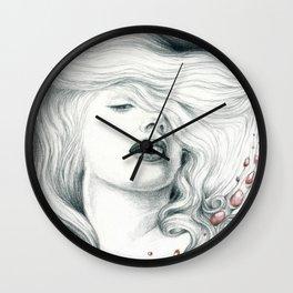 Pretty Marilyn Portrait Wall Clock