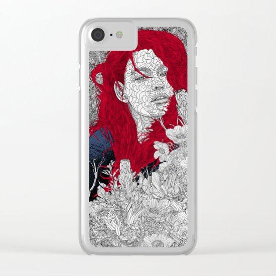 Deep Shade Clear iPhone Case