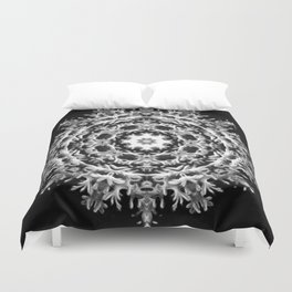 Black-and-White Abstract 43 Duvet Cover