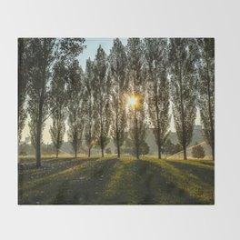 Penn State Arboretum Throw Blanket