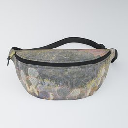 Prickly Pear Cactus Fanny Pack
