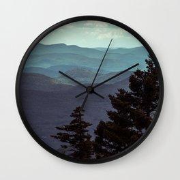 Adirondack Bliss Wall Clock