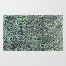 Snow Pines(Light Green) Rug