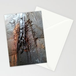 Abstract Structure Stationery Cards