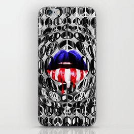 SHE WAS AN AMERICAN GIRL iPhone Skin