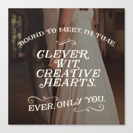 Ever Only You Canvas Print