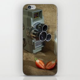 Sekonic and Strawberries iPhone Skin