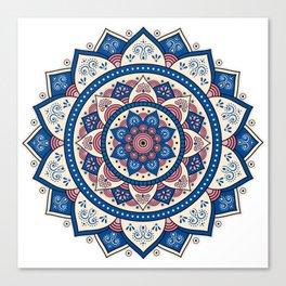 Mandala Tujuh / Seven Canvas Print